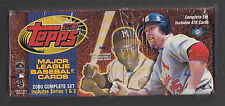 Topps Baseball 2000 Complete Sealed Factory Set 478 Cards