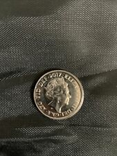 More details for 10p coin rare miss cut side