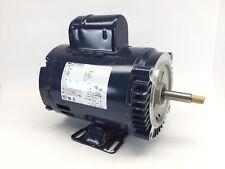 Bluffton Motor Works Model 1203007441 1 HP Motor 3450 / 2875 RPM  Single Phase