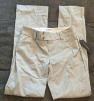 NWT Women's Banana Republic The Sloan Fit Flare Pinstripe Pants 2 Stretch