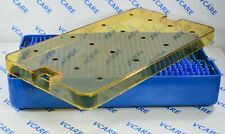 Plastic Sterilization Double Mat Tray Size: 235 x 125 x 38mm Lab Equipment