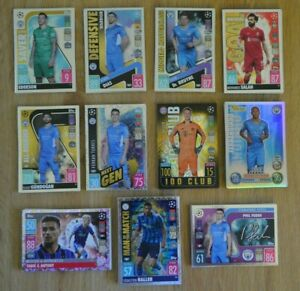 Match Attax Champions League 21/22 Heritage 100 Club Man of the Match 2021/2022