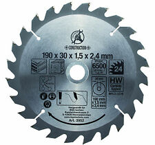 BGS Germany TCT Circular Saw Blade 190mm Diameter Top Quality Blade Guarantee