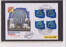 BRD-1999-Briefm.-Ausst.-Beleg-Bruphila Brüssel-29.9.-3.10-1999-Mi:2049- So-Stpl.