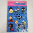 1990 Hallmark Star Trek Stickers. 4 Sheet Pack