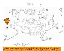 BMW OEM 2015 M3 Headlight Head light lamp-Control Module 63117379920