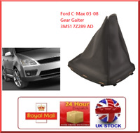 Black Gear Knob Gaitor Gaiters Boot Cover Fits 2003-2008 Ford Focus C- Max Cmax