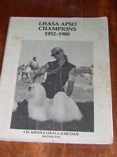 More details for rare dog book
