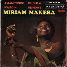"MIRIAM MAKEBA ""DUBULA"" AFRICAN SOUL EP 1964 RCA 86.374"
