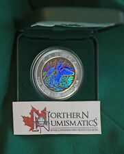 2002 CANADA $5 Loon Hologram 15th anniversary of loonie - slight spotting