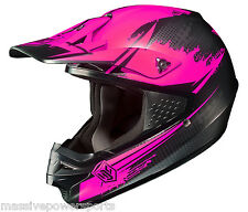 HJC CS-MX Second Phase Motocross Helmet Pink XL Extra Large ATV Off Road Dirt