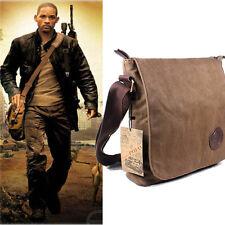 Genuine Military Satchel Shoulder Messenger Vintage Bag Army Fishing Canvas