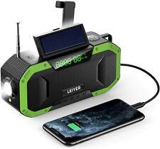 New ListingEmergency Radio, Solar Crank Noaa Weather Radio Hand Crank Radio with Am/Fm, Led