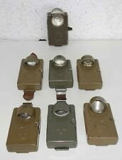 ELVES u.a. - alte Taschenlampen - 40er Jahre - schweizer Militär - SWISS ARMEE