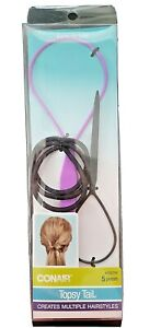 CONAIR TOPSY TAIL 5 PIECE CREATES MULTIPLE HAIRSTYLES  KIT
