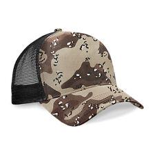 Casquette Snapback TRUCKER Américaine Camouflage Desert