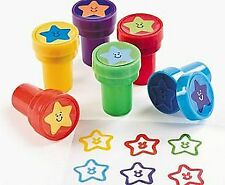 24 Star Themed Self Inking Reward Stampers for Kids