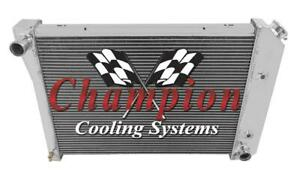 Champion Cooling 3 Row 23 Inch Core All Aluminum Replacement Radiator CC412 Buic