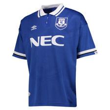 Camisetas de fútbol de clubes ingleses 1ª equipación para hombres everton