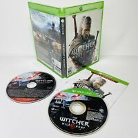 The Witcher 3: Wild Hunt Xbox One 2015 w/ Soundtrack Manual No Map TESTED WORKS