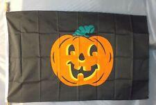 HALLOWEEN PUMPKIN 3X5' FLAG NEW 3'X5' 3 X 5 FEET BIG FALL JACK O LANTERN