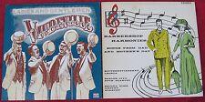 Barber Shop Quartet Harmony(Lot Of 2LPs): Vaudeville / Barbershop Harmonies