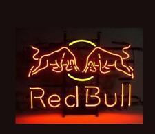 "New Red Bull Energy Drink Lager Beer Neon Light Sign 20""x16"""