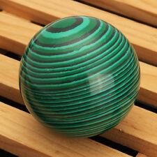 MALACHITE Green Gemstone Ball Crystal Sphere Healing Magical 50mmX50mm Decor