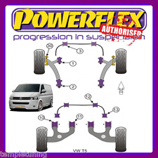 Powerflex Adjustable Bushes Kit For Front/Rear & Anti-roll For Transporter T5