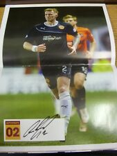 29/03/2014 Autographed Programme: Motherwell v Kilmarnock - Signed on centre pag