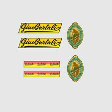 Gino Bartali Bicycle Frame Decals - Transfers - Stickers n.1