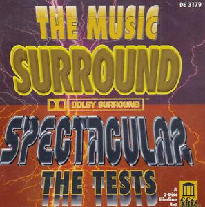 SURROUND SPECTACULAR  audio tests  DELOS  2 cds