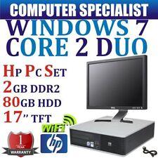 """PC de bureau HP 17"""""""