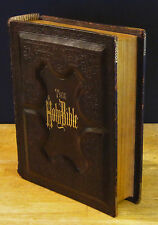 HOLY BIBLE: PARALLEL NEW TESTAMENTS (1885) GUSTAVE DORE Illustrated, Holman Ed.