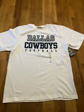 New Dallas Cowboys NFL Football t-shirt Mens Large White NWT