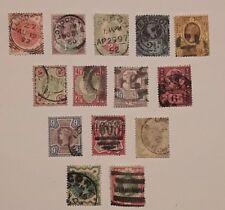 Großbritannien 1887, MiNr. 86-97 + 100-101, (101 gepr. Dr.Knopke), gest. ME 300