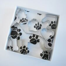 Greyhound Six Piece Cookie Cutter Set - FREE SHIPPING - New