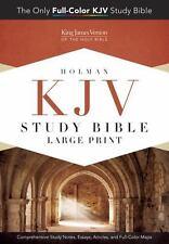 HOLMAN KJV STUDY BIBLE - HOLMAN BIBLE PUBLISHERS (COR) - NEW HARDCOVER BOOK