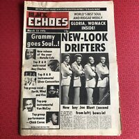 Black Echoes 13 Mar '76 Gloria Gaynor, Johnny Guitar Watson, Notting Hill Carniv