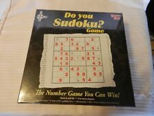 Do You Sudoku? Board Game from University Games #01512