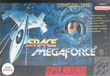Space Megaforce Super Nintendo / Snes / NTSC