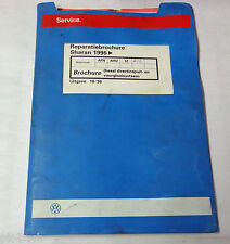 Reparatiebrochure VW Sharan TDI Diesel directinspuit- en voorgloeisysteem 1996