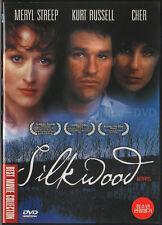 Silkwood (1983) DVD, NEW!! Meryl Streep, Kurt Russell, Cher