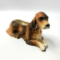 Napco Irish Setter Planter M5567 Vintage Japan MCM Mid Century Dog Puppy