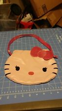 Authentic Hello Kitty Face Purse Bag Tote Sanrio Pink