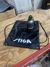 More details for stiga branded water bottle & drawstring bag