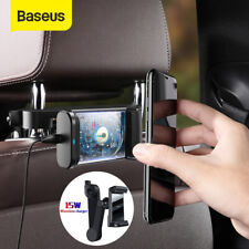 Baseus 15W Car Wireless Charger Backseat Phone Holder Stand for iPhone Samsung