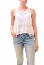Free People Women's NBW Authentic Shasta Crop Top White Size XS RRP £52 BCF77