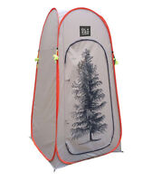 TOILET TENT CAMPING STORAGE TENT QUICK PITCH POP UP - OLPRO TREE DESIGN (ORANGE)