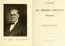 1880 ST. JOSEPH County Indiana IN, History and Genealogy Ancestry Family DVD B36